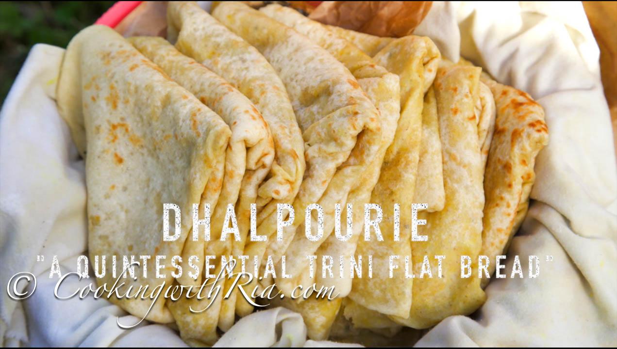 Dhal Puri   Trinidad Split Pea Stuffed Vegan Flatbread   Trinidad Dhal Puri