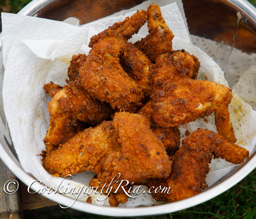 Trini Fried Chicken Recipe Cooking With Ria